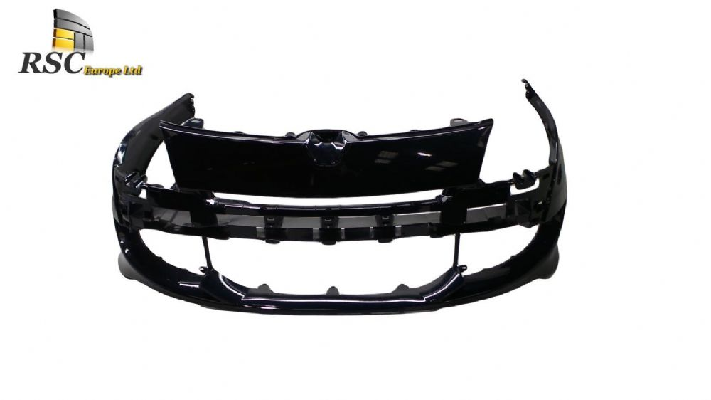 NEW RENAULT MEGANE III RS250 BARE FRONT BUMPER IN DARK BLUE REDBULL TWILIGHT 6202200031R